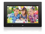 Aluratek ADMSF310F Aluratek 10 inch Digital Photo Frame with Motion Sensor and 4 GB Built in Memory 10 LCD Digital