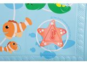 Dreambaby L679 Dreambaby Anti Slip Bath Mat with Too Hot Indicator Animals Bath Mat Heat Indicator Prevents Slipping in the Bath Tub Easy to Clean S