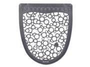 Urinal Mat 2.0, Rubber, 17 1/2 x 20, Gray/White, 6/Carton UMGW 9SIA0ZX4FM1648