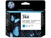 HP 744 Printhead - Photo Black, Cyan 0WX-000R-00UV5