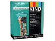 Nuts And Spices Bar Dark Chocolate Almond Mint 1.4 Oz Bar 12 box