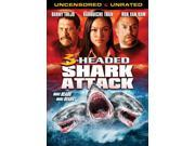 3 Headed Shark Attack [DVD] 9SIAA765819156