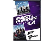 Fast & Furious Collection: 5 & 6 [DVD] 9SIAA765818759