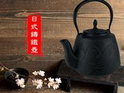 EXPERT - QingSong Japanese Cast Iron Teapot (Tetsubin) 2L