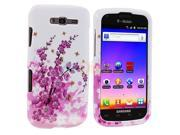 Spring Flowers Design Crystal Hard Skin Case Cover for Samsung Galaxy S Blaze 4G T769