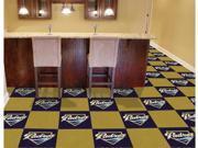 Fan Mats 8596 MLB San Diego Padres 18-Inch Carpet Tiles