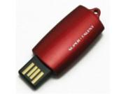 Super Talent CTS-COB Top Slider 4 GB USB 2.0 Flash Drive STU4GTSR (Red)
