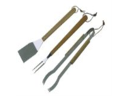 Charbroil 4185321 Deluxe Three-Piece Stainless Steel Barbecue Tool Set