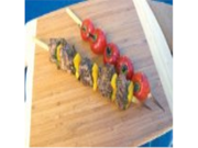 The Companion Group SR8080 9mm Wide Bamboo Skewers 12 Long / Set 25