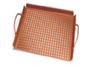 """Outset QN71 Copper Nonstick Large 17"""" x 11"""" Grill Grid with Handles"""