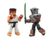 Diamond Select Toys Street Fighter X Tekken Minimates Series 2: Ryu vs Yoshimitsu, 2-Pack 9SIA0PN0ME5153