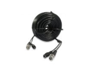 Zmodo W-VP1015 AWG24 Video + Power CCTV Cable (15 Meters, 50 Feet)