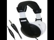 iHip Extra Bass Stereo Headphones (Black/White)