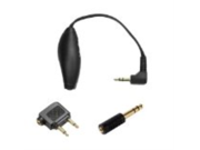 """Shure EAADPT-KIT Adapter Kit (Combines 1/4"""" Adapter, Airline Adapter, Attachable Volume Control)"""