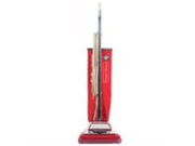 Electrolux Sanitaire Heavy-Duty Commercial Upright Vacuum, 17.5lbs, Chrome/Red