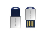Super Talent Pico Mini-D 16GB USB 2.0 Water Resistant Flash Drive, Blue (STU16GMDU)
