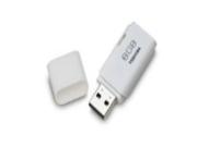 Toshiba 8GB Transmemory USB 2.0 Flash Drive, White (THNU38N08GTRT)