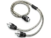 JL Audio Twisted Pair Audio Y-Adapter Cable - XD-CLRAICY-1F2M