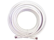 Wilson Electronics 950620 RG6 20 feet Low Loss Coax Extention Cable - White