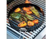 Charcoal Companion CC1993 Non-Stick Pepper Roasting Basket, Set of 2