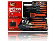Fine Life 19-Piece BBQ Set in Carry Case