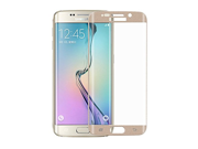 2 Pack - Generic Screen Protector Film For Samsung Galaxy S6 Edge, G9250, 3D Full Cover Ultra Thin 9H Tempered Glass Explosion Proof HD Clear, Gold 9SIA1055601372