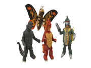 Diamond Select Toys Godzilla Classic Minimates Series 1 Box Set 9SIA10555S4240