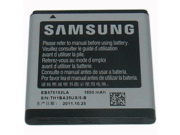 Samsung Original OEM 1650 mAh Spare Replacement Li-Ion Battery for Samsung Captivate Glide/Galaxy S/Vibrant/Focus - Non-Retail Packaging - Silver 9SIAD245C94290
