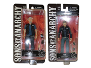 "Sons of Anarchy - Exclusive Jax Teller & Clay Morrow 6"""" Action Figures"" 9SIA10555R4919"