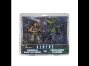 Predator NECA Exclusive Action Figure 2 Pack Corporal Wayne Hicks vs Xenomorph Warrior 9SIA10555R4956