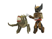 Diamond Select Toys Marvel Minimates Series 47: X-Men vs. Brood: Wolverine (Brood Infection Version) and Brood, 2-Pack 9SIA10555S6209