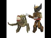 Diamond Select Toys Marvel Minimates Series 47: X-Men vs. Brood: Wolverine (Brood Infection Version) and Brood, 2-Pack 9SIA10555S6209