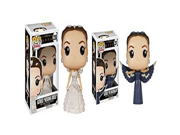 The Hunger Games Katniss in Wedding Dress, Katniss Mocking Jay Pop! Vinyl Figures Set of 2 9SIA10555S4856
