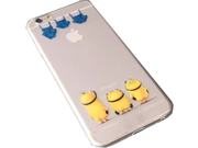 "New 2015 Minions Despicable Me New Cute iPhone 6s Case, iPhone 6 Case, Plastic Tpu Clear Phone Case for iPhone 6 / 6s 4.7"""" (Minion # 2)"" 9SIA1055601316"