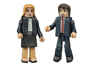 Diamond Select Toys The X-Files: Modern Mulder & Scully Minimates Action Figure (2 Pack) 9SIA88C6105094