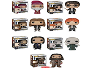 "Funko Pops! Complete Set of 7 ~ Harry Potter Voldemort Albus Dumbledore Hermione Granger Ron Weasley Severus Snape and 6"""" Rubeus Hagrid"" 9SIA10555R4688"