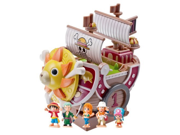 Megahouse One Piece: Pirate Ship Thousand Sunny Chara Bank Action Figure 9SIA10555R4656