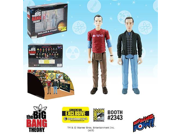 The Big Bang Theory Sheldon & Stuart Figures -Con. Exclusive 9SIA10555S4546