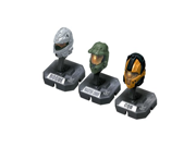 HALO Helmet 3PKs Series 1 - Set 3: Master Chief (Green), Rogue (Silver), CQB (Orange) 9SIA10555R4752