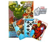 Marvel Avengers Jumbo Card Game ~ Captain America, Thor, Iron Man, The Hulk 9SIA10555R5733