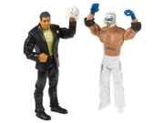 WWE Adrenaline Series 15 Eddie Guerrero & Rey Mysterio w/Ripped Mask 2-Pack Action Figures 9SIA17P77U2228