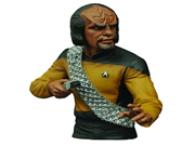 Diamond Select Toys Star Trek: The Next Generation: Lt. Worf Vinyl Bust Bank Statue 9SIA10555S4654