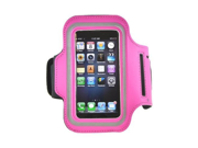 Apple Iphone 5 Sweat-proof Neoprene Armband Case W/ Hook-and-Loop fastener Closure - Hot Pink 9SIV16A6794803
