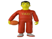 "NECA The Simpsons 25th Anniversary - Series 1 - Yao Ming Action Figure, 5"""""" 9SIA10555S4612"