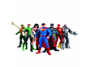DC Collectibles NOV138235 Justice League Action Figure Box Set, 7 Pack 9SIA10555R5004