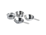 4-piece set / stainless steel color DUKTIG playing house for cookware [IKEA] IKEA (00167839) (japan import)