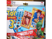 Toy Story 3 Game, Card Game and Puzzle Set- Woody 9SIA10555R6251
