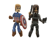 Diamond Select Toys Marvel Minimates Series 55 Captain America The Winter Soldier Final Battle Captain America & Winter Soldier Action Figure (2-Pack) 9SIA10555R4685