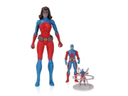 DC Icons Atomica Ryan Choy Ray Palmer Atom Action Figures 3-Pack 9SIA10555R4995