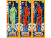 Match Attax England World Cup 2014 Russia Base Card Team Set (3 Cards) 9SIA10555R5967